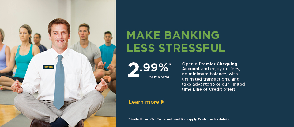 Make Banking Less Stressful