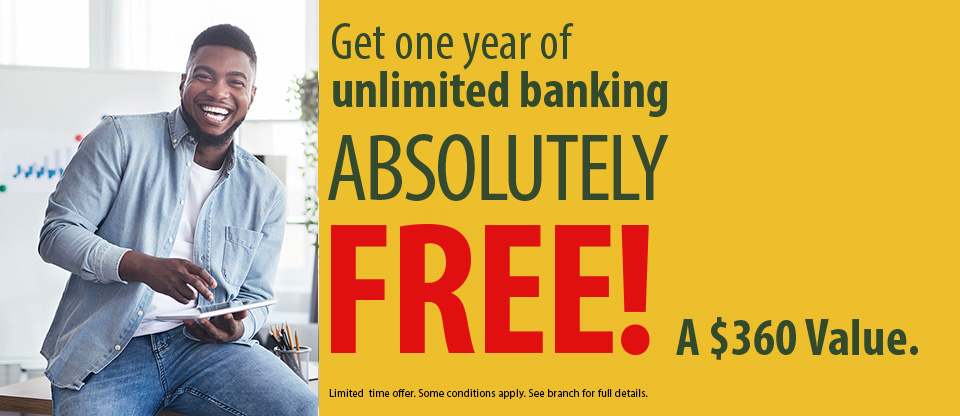 Unlimited Banking Offer